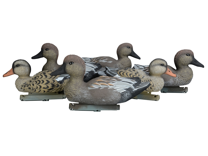 Duck Commander Foam Filled Gadwall Duck Decoy Pack of 6