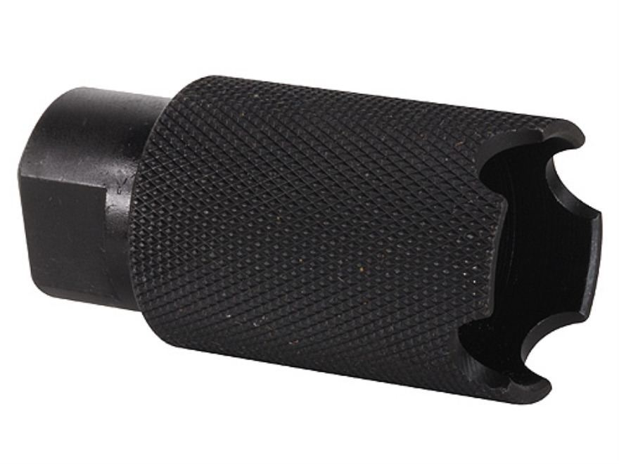 "DoubleStar Carlson Tac Comp Muzzle Brake 1/2""-28 Thread AR-15 Steel Matte"