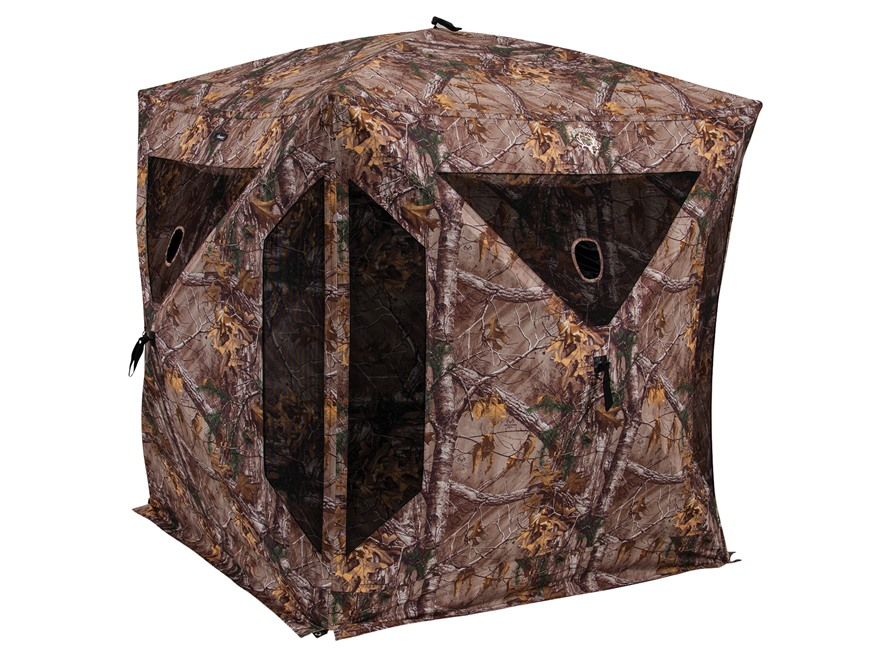 "Ameristep Brotherhood Ground Blind 82"" x 82"" x 72"" Polyester Realtree Xtra Camo"