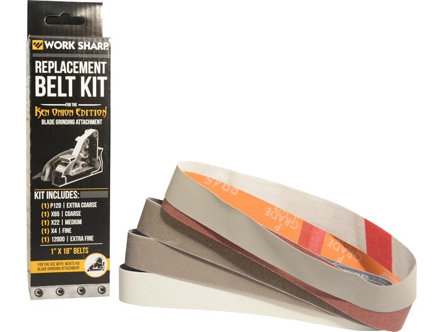 Work Sharp Ken Onion Edition Blade Grinder Attachment Belt Kit