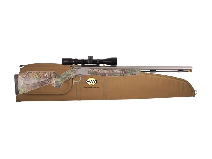 CVA Optima V2 Muzzleloading Rifle with KonusPro 3-9 x 40mm Scope and Soft Case