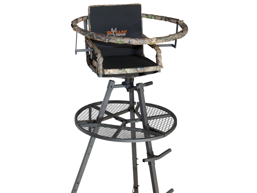 Big Game The Apex Tripod Treestand Steel Black