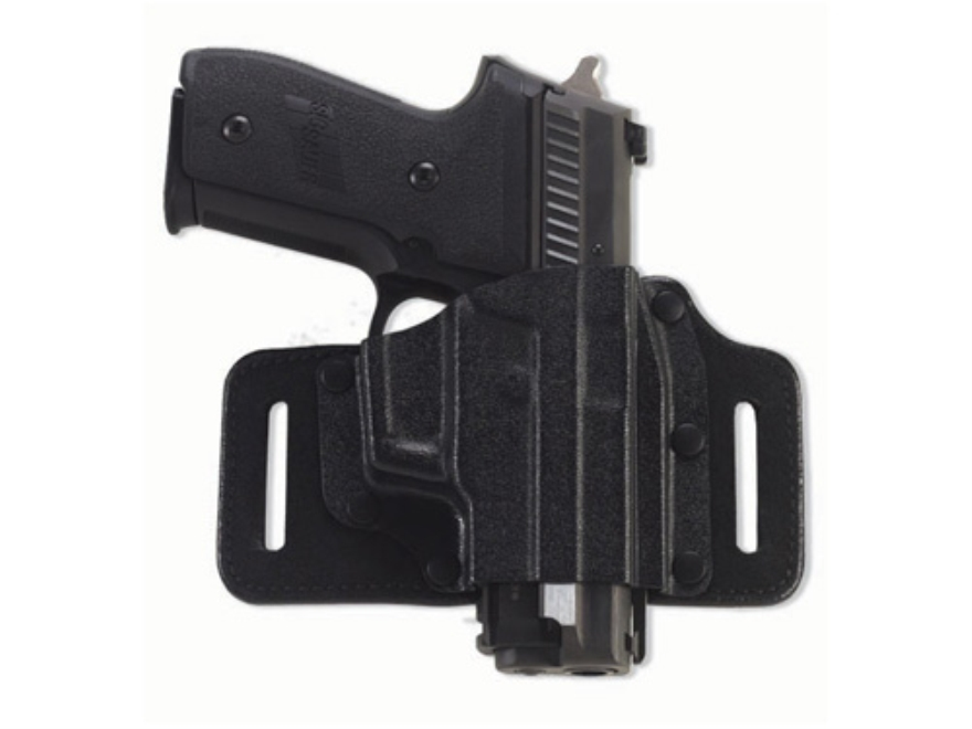 Galco Tac Slide Belt Holster Right Hand S&W J-Frame Leather and Kydex black