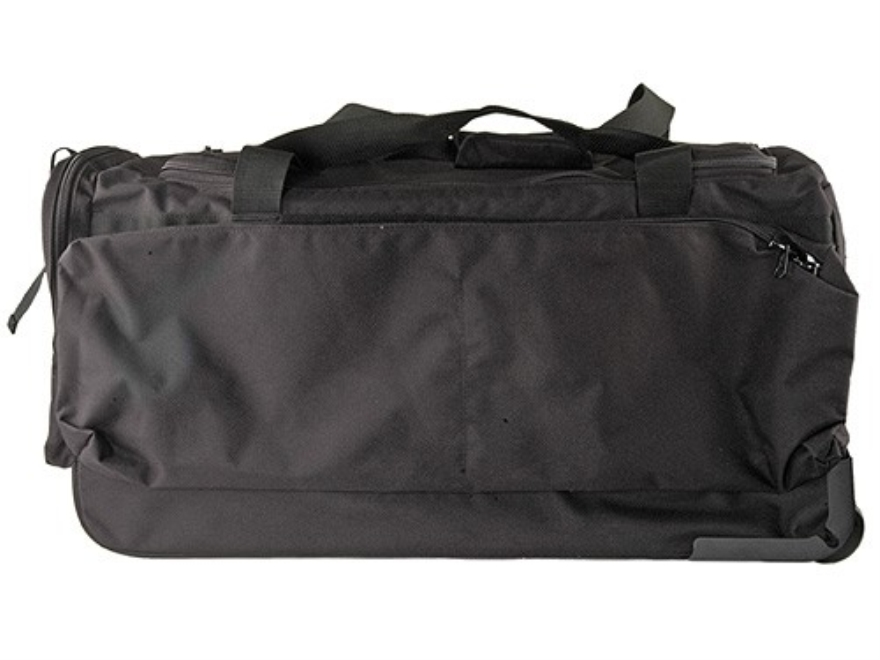 Uncle Mike's Wheeled Duffel Bag Nylon Black