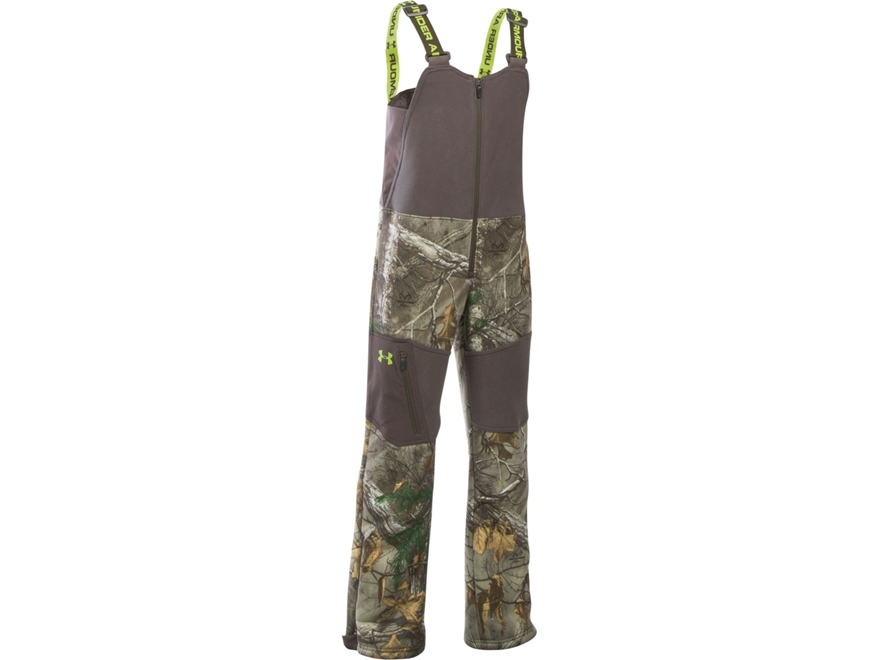 Under Armour Boy's UA Stealth Insulated Bibs Polyester Realtree Xtra Camo