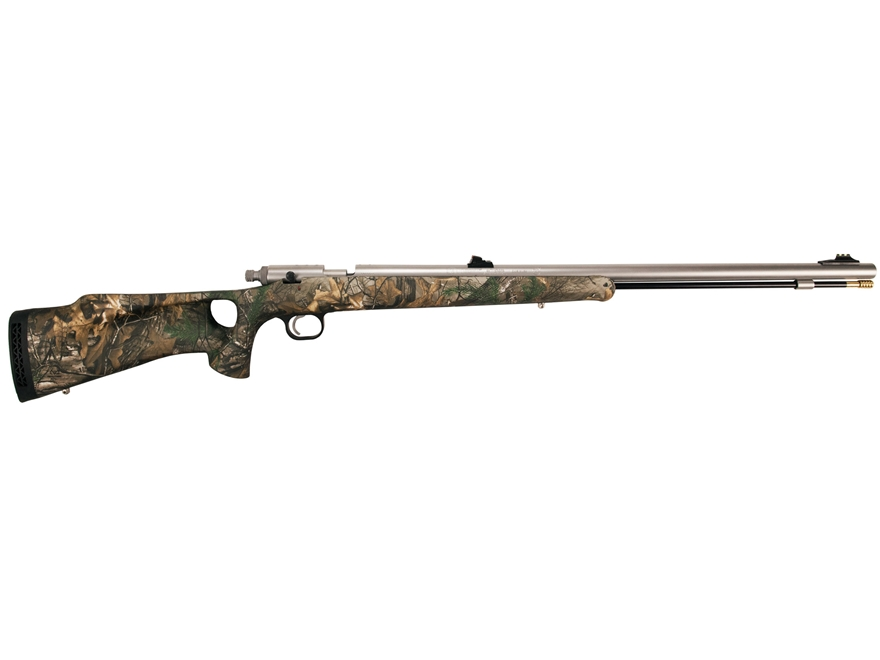 "Knight Bighorn Full Plastic Jacket Muzzleloading Rifle .52 Caliber 26"" Stainless Steel ..."