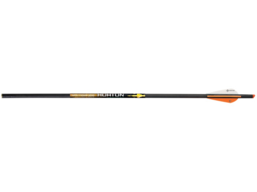 "Horton Lightning Strike 20"" Carbon Crossbow Bolt with Lighted Arrow Nock and 3"" Vanes B..."