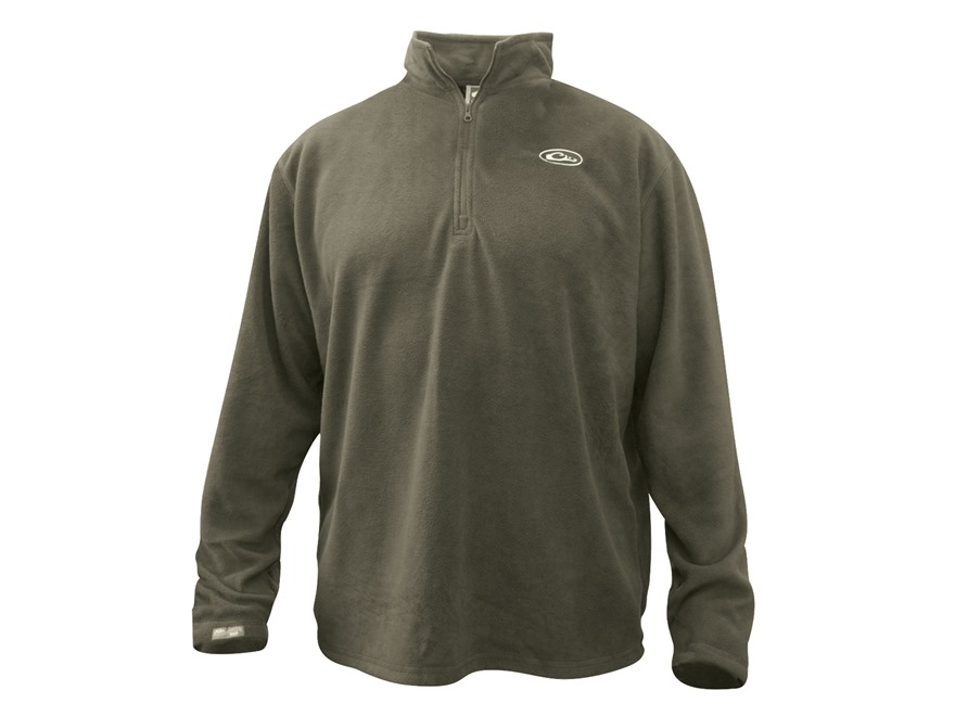 Men's Camp Fleece 1/4 Zip Pullover Polyester