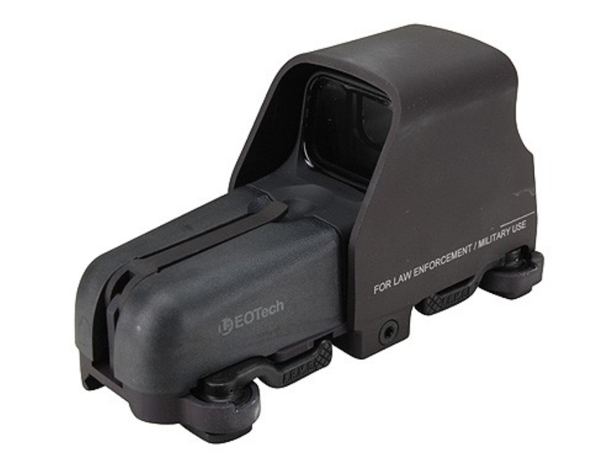 EOTech 553 Holographic Weapon Sight 65 MOA Circle with 1 MOA Dot Reticle Matte Black CR...