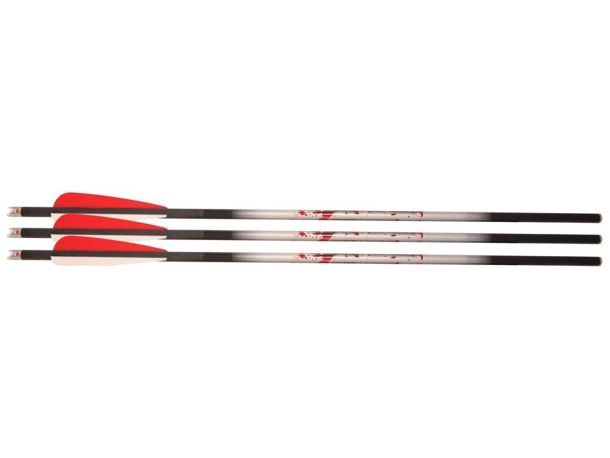 Nockturnal Lighted Carbon Crossbow Bolt Pack of 3