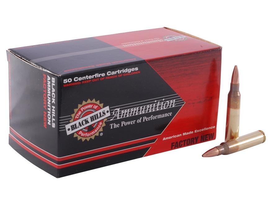 Black Hills Ammunition 223 Remington 77 Grain Sierra MatchKing Hollow Point Box of 50
