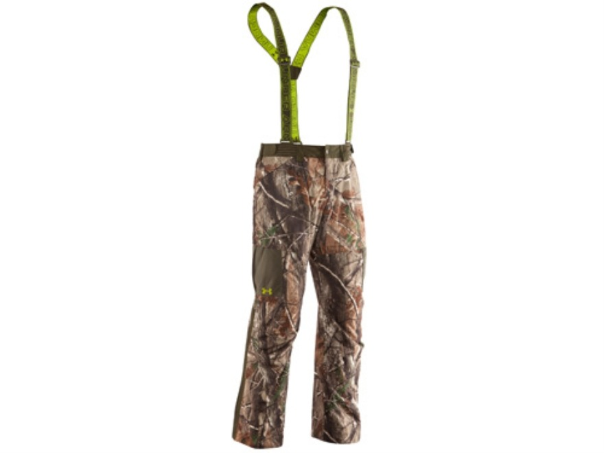 Under Armour Men's Gunpowder Scent Control Waterproof Insulated Pants Polyester Realtre...
