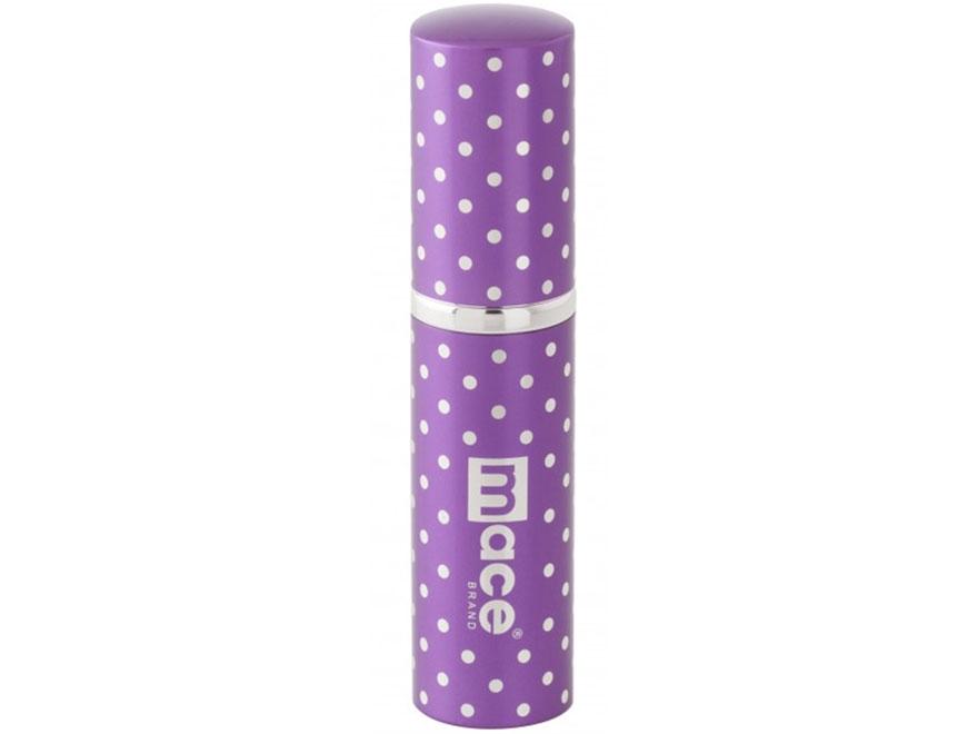 Mace Brand Exquisite Polka Dot Purse Pepper Spray 17 Gram Aerosol 10% OC Plus UV Dye