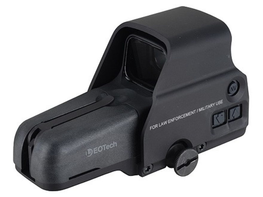 EOTech 556 Holographic Weapon Sight 65 MOA Circle with 1 MOA Dot Reticle Matte CR 123 B...