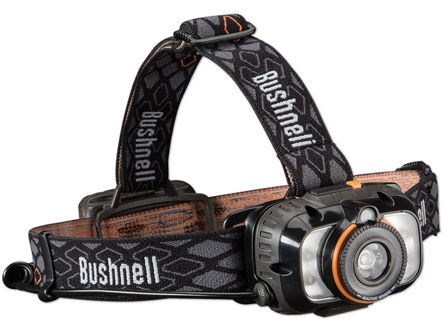 Bushnell Rubicon H250L Headlamp LED Requires 3 AA Batteries Black