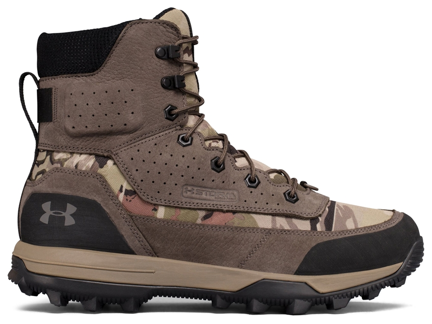 """Under Armour UA Speed Freek Bozeman 2.0 8"""" Waterproof Hunting Boots Leather/Synthetic M..."""
