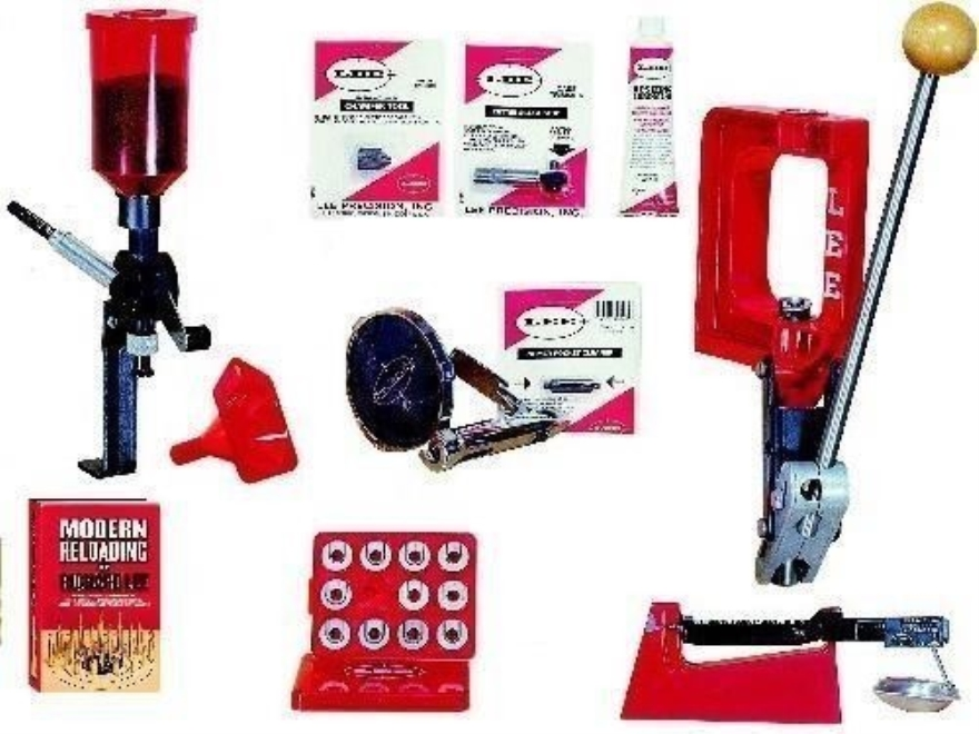 "Lee Challenger Single Stage Press Anniversary Kit with ""Modern Reloading"" Manual"