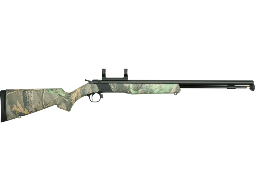"""CVA Wolf Muzzleloading Rifle with Dead-On Scope Mount 50 Caliber 24"""" Nitride Stainless ..."""