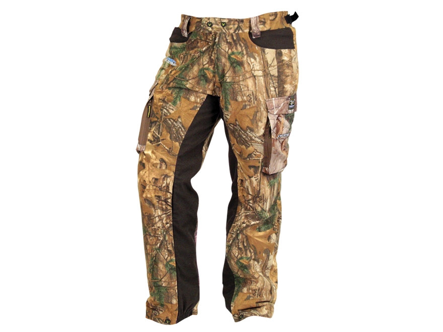ScentBlocker Women's Sola ProTec HD Fleece Pants Polyester Realtree Xtra Camo Large 12-...