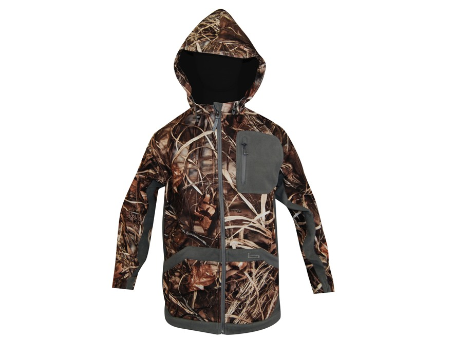 Banded Men's UFS Fleece Hooded Jacket Polyester Realtree Max-4 Camo Large