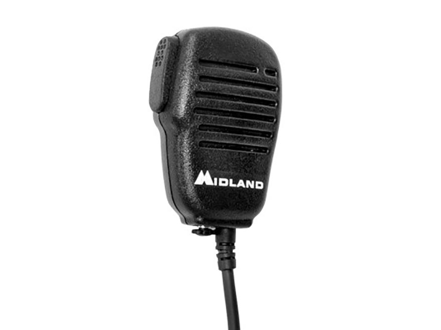 Midland AVPH10 Handheld Speaker Mic with Push To Talk
