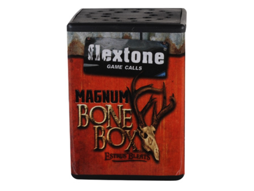 Flextone Bone Collector Magnum Bone Box Bleat Deer Call
