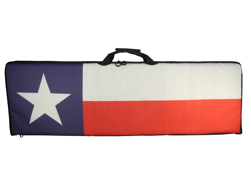 "MidwayUSA Freedom Series Rifle Case 46"" Texas Flag"
