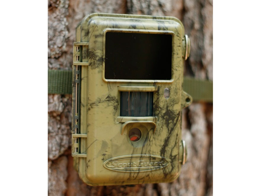 HCO Scoutguard SG560K Black Flash Infrared Game Camera 8 Megapixel with Viewing Screen ...