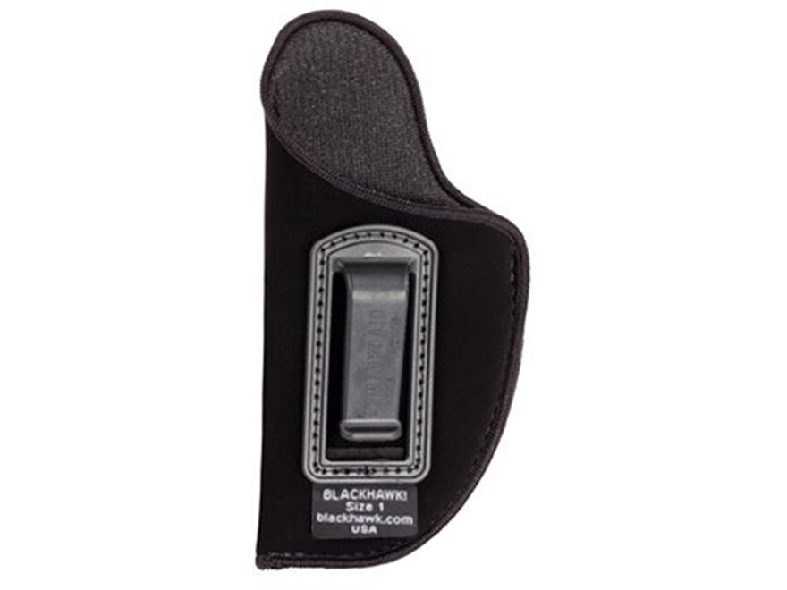 BLACKHAWK! Inside the Waistband Holster Left Hand Small Double Action 5-Round Revolver ...