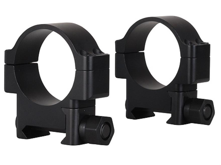 TPS 30mm HRT Weaver-Style Rings Matte