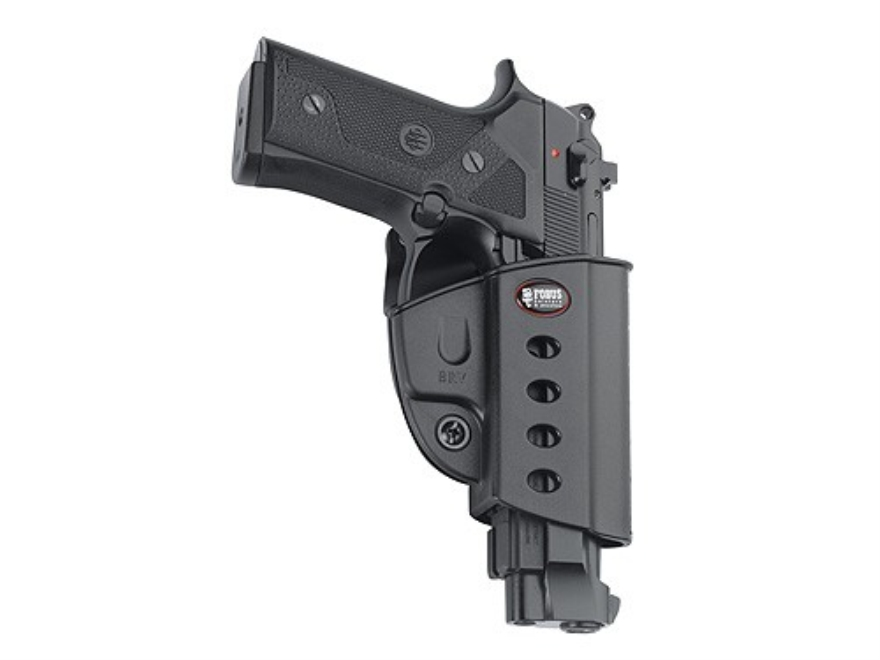 Fobus Evolution Belt Holster Right Hand Beretta Vertec, Taurus 92, 99 with Rail Polymer...