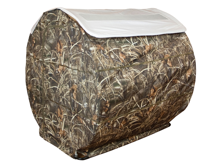 Beavertail Bale Blind Snow Roof Cover for 2-Man Blind 600D Fabric