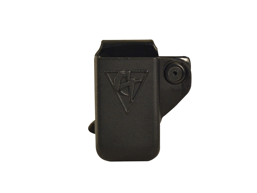 Comp-Tac Single Magazine Pouch Right Hand Single Stack 1911 Kydex Black