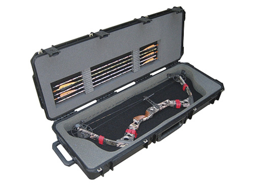 "SKB iSeries 4214 MIL STD Injection Molded Parallel Limb Compound Hard Bow Case 42-1/2"" ..."