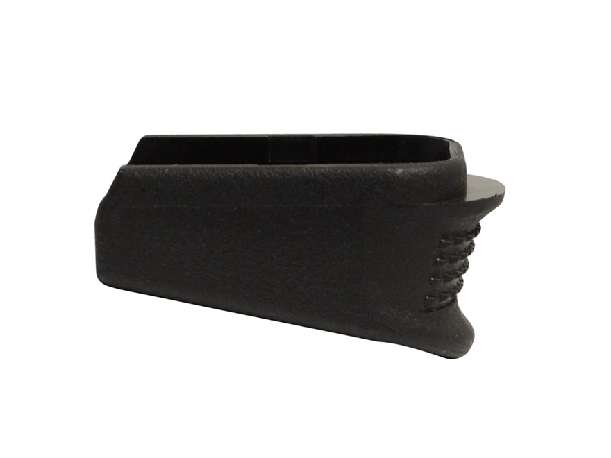 Pearce Grip Magazine Base Pad Glock Generation 4 Glock 26, 27, 33 Plus Two Polymer Black
