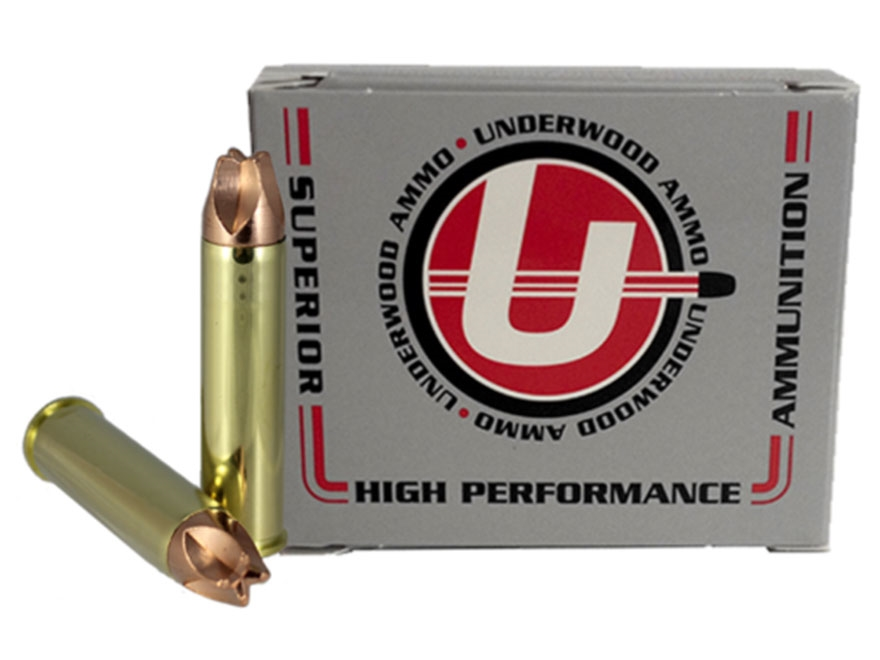 Underwood Xtreme Hunter Ammunition 460 S&W Magnum 220 Grain Lehigh Xtreme Defense Lead-...