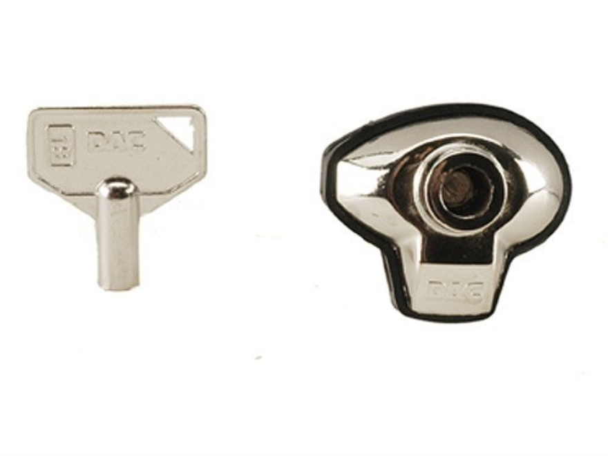 DAC Metal Gun Lock Silver