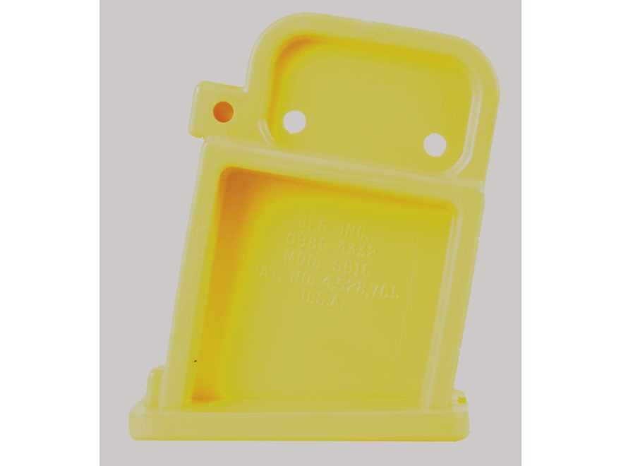 Boonie Packer Safety Magazine Well Bolt Block AR-15 Yellow