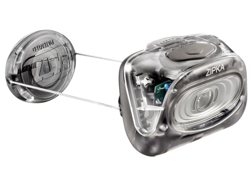 Petzl Zipka Headlamp LED with 3 AAA Batteries Polymer