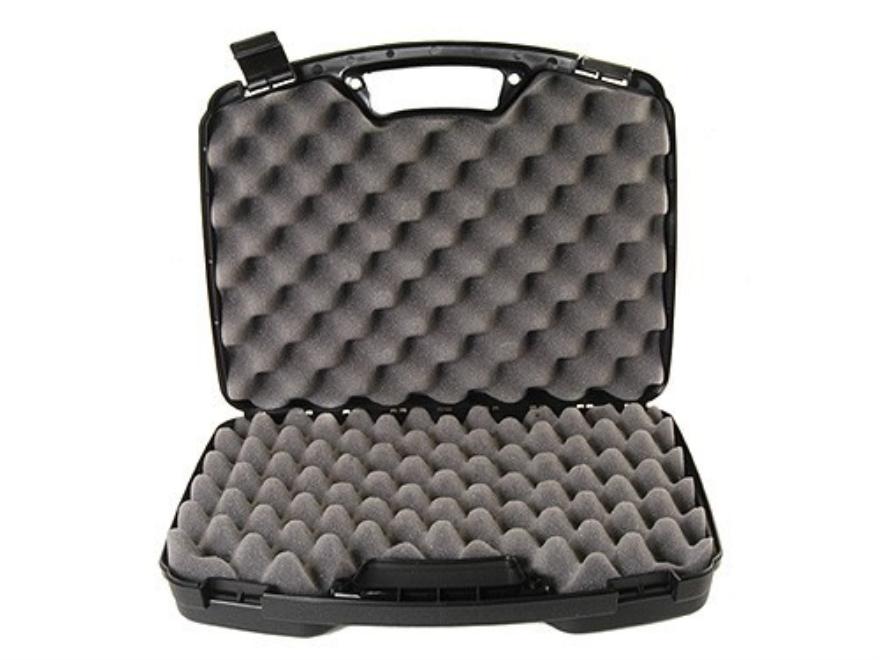 """MTM Double Pistol Case 15.5"""" Black"""