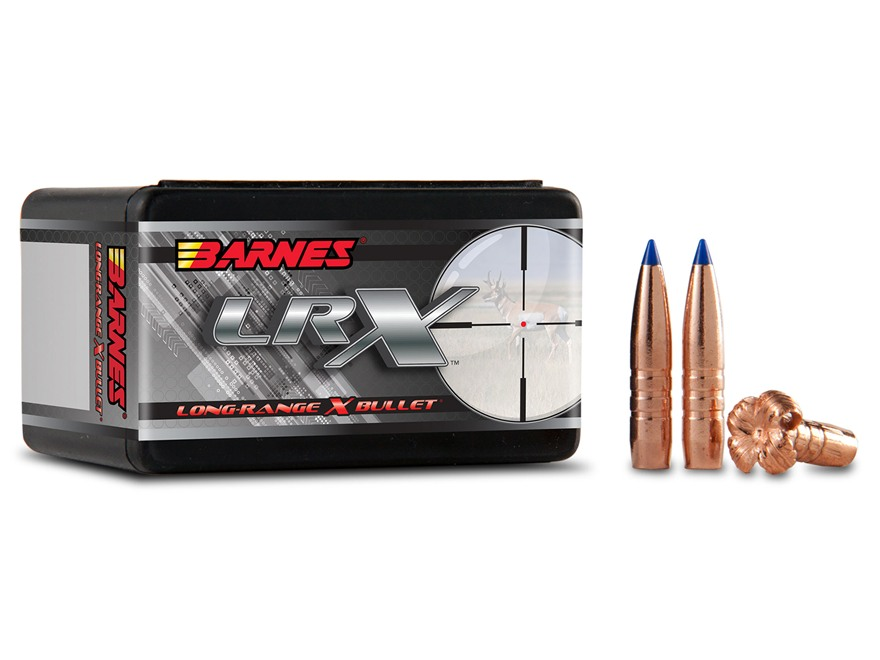 Barnes Long-Range Hunting Bullets 284 Caliber, 7mm (284 Diameter) 145 Grain LRX Boat Ta...