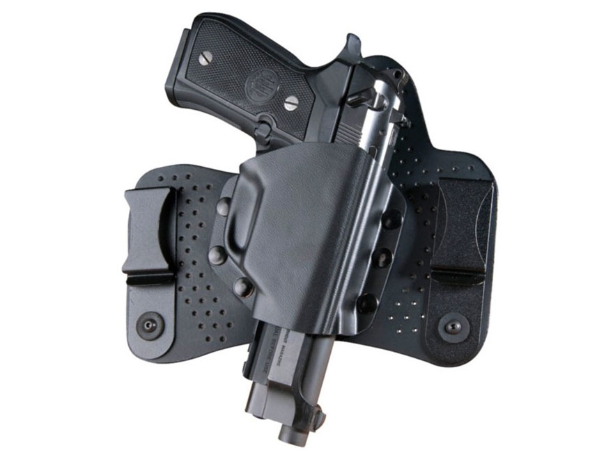 Beretta BU Inside the Waistband Hybrid Holster Right Hand 92FS, 96, 92A1, 96A1 Leather/...