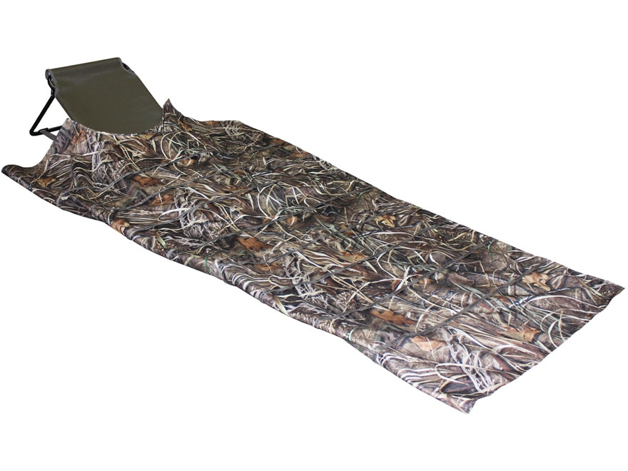 Beavertail Sniper Layout Blind 600D Fabric Swamper Camo