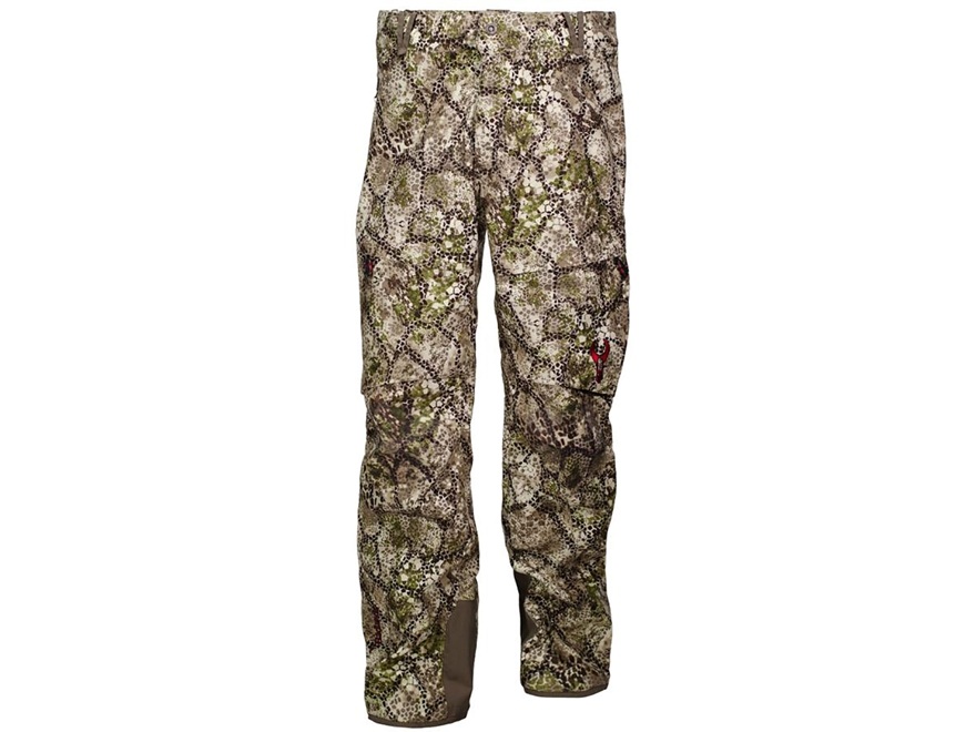 Badlands Men's Alpha Waterproof Pants Polyester Approach Camo