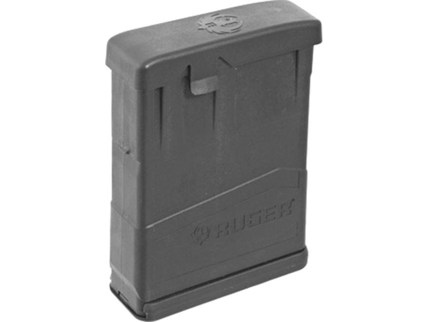 Ruger Magazine Ruger Gunsite Scout 308 Winchester Polymer Black