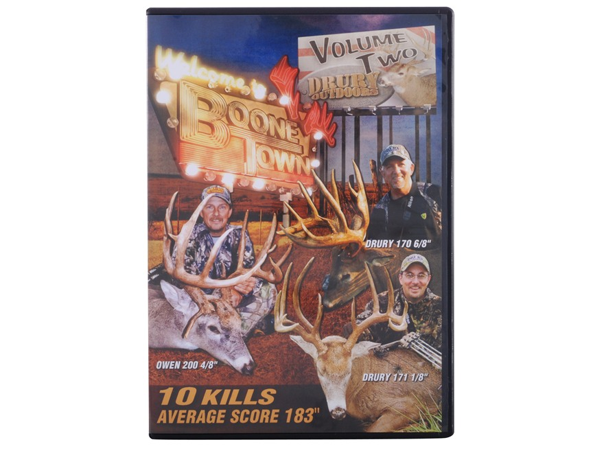 Drury Outdoors Boone Town Video DVD