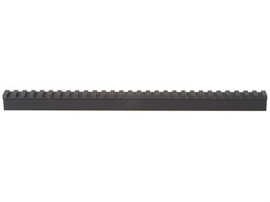 "ERGO Gunsmith Picatinny-Style Rail Scope Base Blank 12"" Length .400"" Height Aluminum Black"