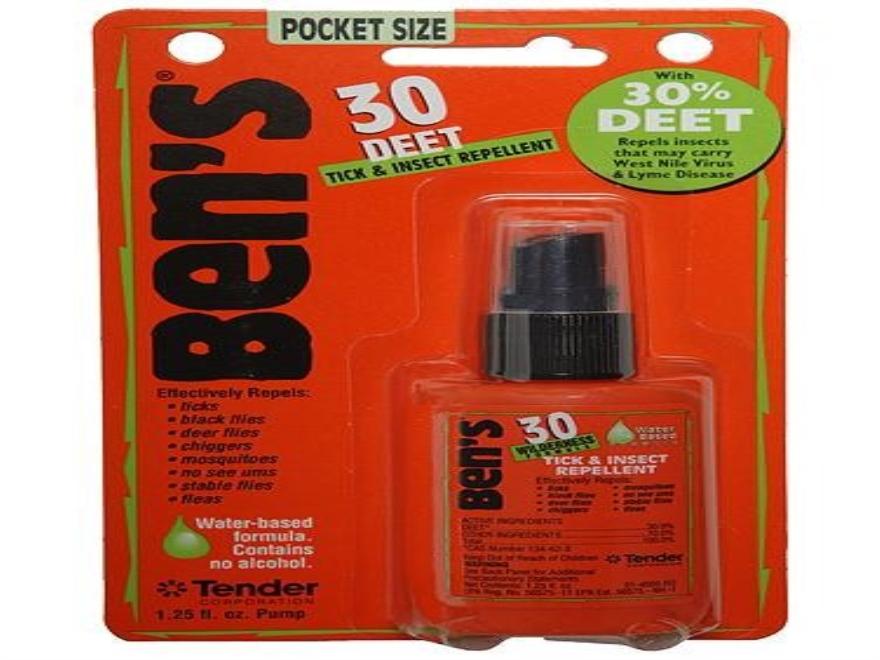 Ben's 30% Deet Insect Repellent Spray 1.25 oz