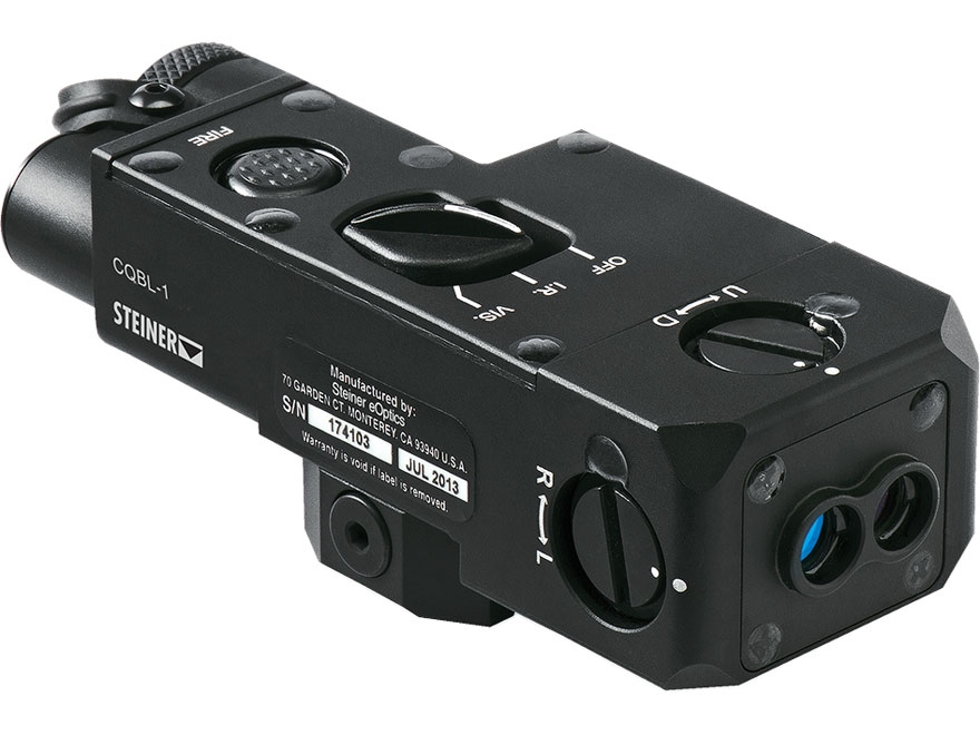 Steiner CQBL-1 Close Quarters Battle Laser Red with Picatinny-Style Mount