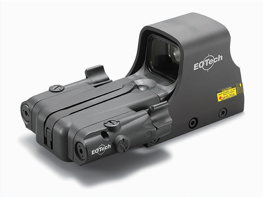 EOTech 552 Holographic Weapon Sight 68 MOA Circle with 1 MOA Dot Reticle with Infrared ...